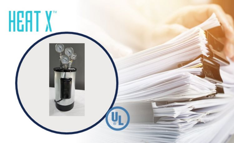 HEAT X™ Successfully Completes UL Field Evaluation for Its Tank Water Heater Assembly